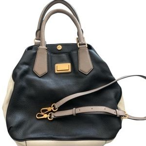 Marc by Marc Jacobs color block leather bag